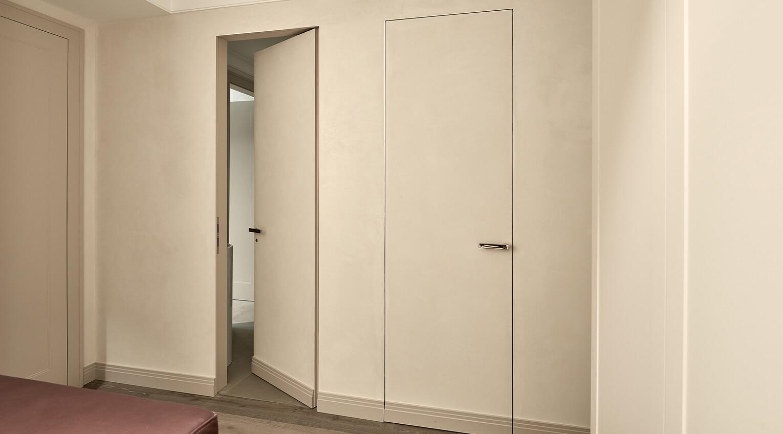 Zeitlose weiße Zimmertür für ein modernes Design